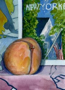 peach and a getz